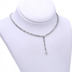 Collana diamanti taglio marquise e goccia