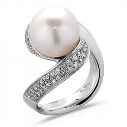 Australian Pearl White Gold...