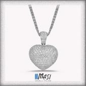 💖❤️💖❤️💖❤️💖❤️ * * #cuoreinbrillanti #ciondolocuore  #heartpendant #diamondpendant  #love #loveyou