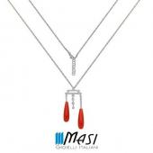 #artdéco  Corallo Rosso 🔴🔴🔴🔴🔴 #primaditutto  #rispettoperlambiente♻  #diamanti  #handmade #redmood  #fashion #style #pendente #shopping #shoponline