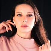 #pink dawn ☀️ 💟⚪️💟⚪️💟⚪️💟⚪️💟⚪️ #primaditutto  #rispettoperlambiente♻  #orecchinipendenti  #lavieenrose  #fashion #style  #shopping #shoponline #saturdaymoods
