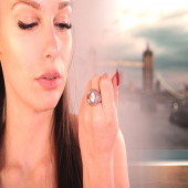 ...aspettando di volare a #londra ✈️ * * * #anello  #zaffirorosa #quarzorosa  #fattoamano #extraitajewelry  #fattoamanoconamore  #diamanti #madeinitaly #handmadejewelry